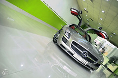 Mercedes-Benz SLS 63 AMG  | Brushed Alluminum (Tareq Abuhajjaj | Photography & Design) Tags: green shop silver shark photo nikon foil 63 mercedesbenz 111 rims 1770  sls amg brushed v12 alluminum tareq        d700 segma  foilacar foila superchaged tareqdesigncom tareqmoon tareqdesign