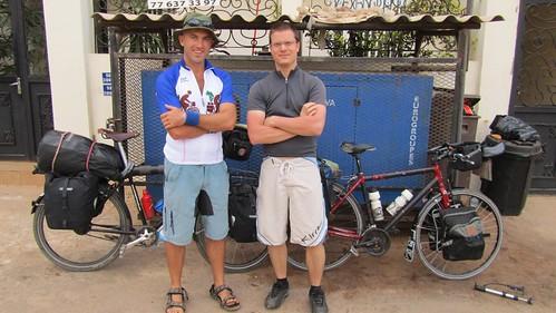 Leaving Dakar with Jon