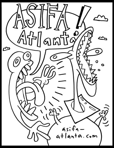 ASIFA-Atlanta Shirt by Brett W. Thompson