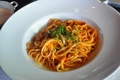 Linguini a la bolognesa