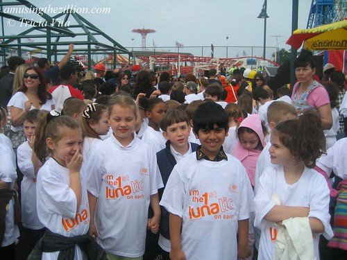 Kids from P.S. 100 visit the new Luna Park. Photo © Tricia Vita/me-myself-i