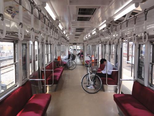 電車に自転車を持ち込みたい!