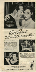 Gail Russel_Jergens_tatteredandlost (T and L basement) Tags: ephemera paramount movieadvertisement johnpayne vintagemagazinead gailrussell jergenslotion 1949photoplay