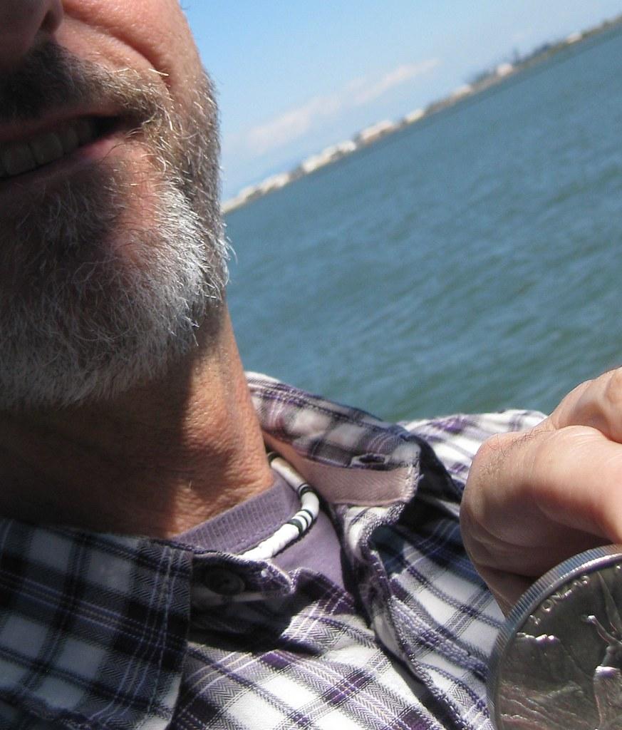 Rusty con su plata querida