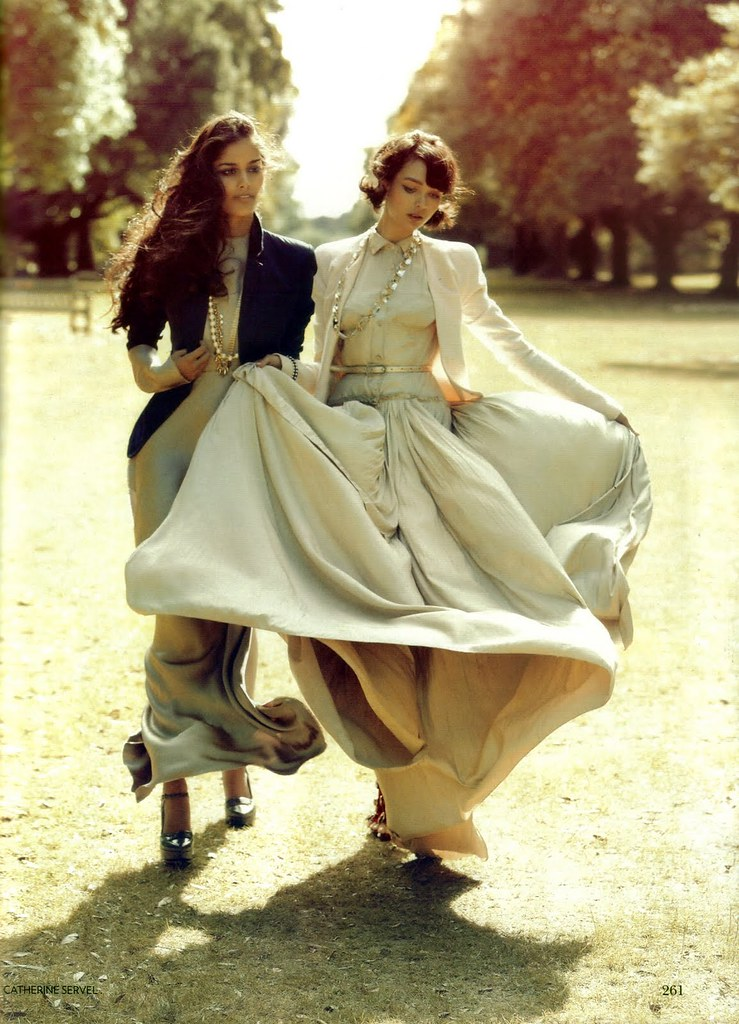 Alyssah Ali & Ocean - Vogue India October 2010 - 5