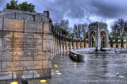 World War II Memorial, Pacific Side