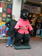 Bearly found a mounty!