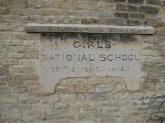 Site of St George's School Established 1815 (plaque)