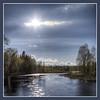 Långan i Jämtland (Kerstin Hellstrom) Tags: blue river square sweden sverige jämtland blå jamtland platinumheartaward långan passiondéclic