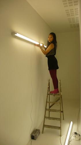 adjusting light