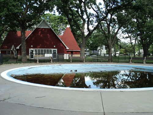 Duck Pool at Brackett Park