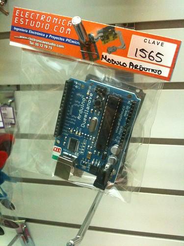 Arduino seen in Mexico