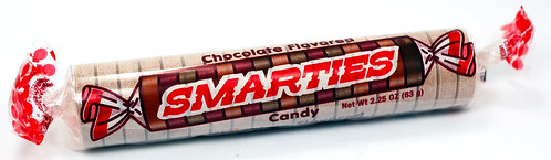 Chocolate Flavored MEGA Smarties