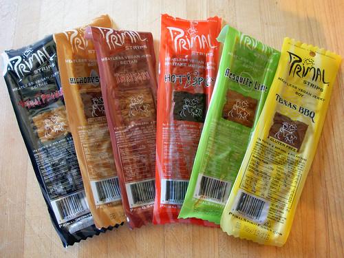 Primal Strips Flavors
