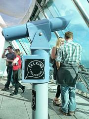 (cyberchrome) Tags: panorama seascape photoshop hampshire portsmouth spinnakertower gunwharfquays panasonicdmctz3