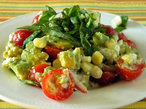 Avocado and Feta Salsa/Salad