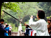 Are you talking to me? (Kaj Bjurman) Tags: china woman eos zoo tai chi sword 5d chongqing kaj markii cs4 bjurman