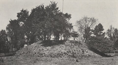 Indian Mound on the South Side of Dublin Road, South of Upper Arlington, 1918 (UA Archives | Upper Arlington History) Tags: columbus ohio history moundbuilders indianmounds nativeamericans upperarlington franklincounty uaarchives httpwwwuaarchivesorg norwestermagazine