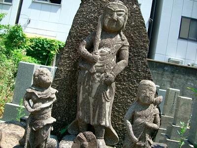 浄佑寺 五大力の墓