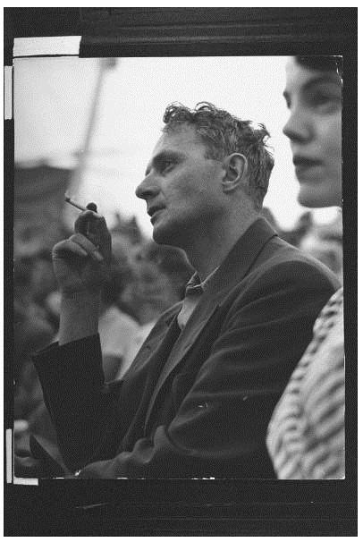 Stephen Spender 1949 por W Eugene Smith