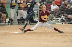 16_8265 (Joels Fastpitch Photos) Tags: minnesota championship state highschool varsity taylor softball lakers rangers fastpitch workman 2010 consolation firstbase priorlake forestlake caswellpark