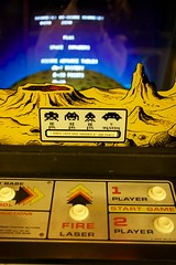 Space Invaders (little fern photography) Tags: show seattle fire jump nw shoot northwest buttons arcade spaceinvaders hobby joystick retro videogames 80s button pacificnorthwest videogame hobbies midway highscore gameroom pacificnw arcadegame arcardes nwpinballandgameroomshow