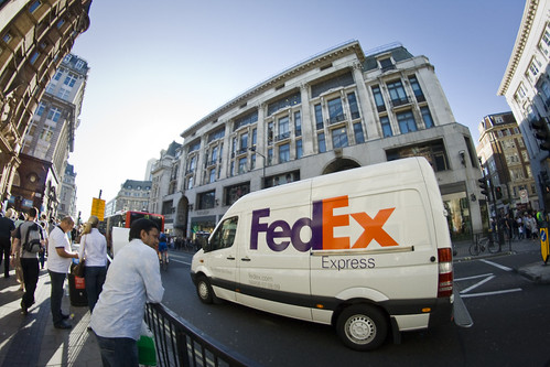 The FedEx Van