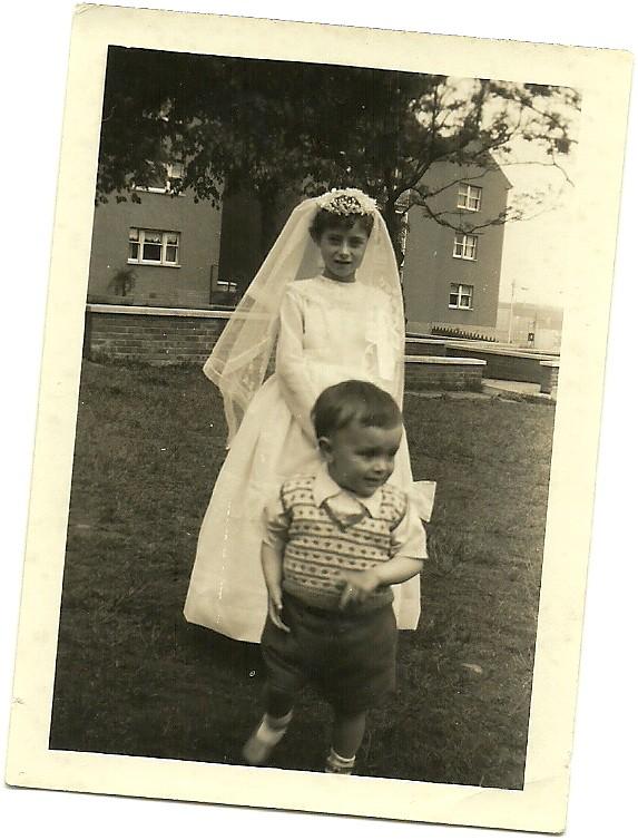 Eileen Corr first communion 1960