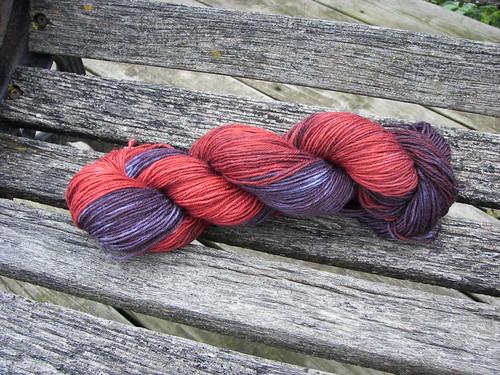 Vampire's Kiss yarn