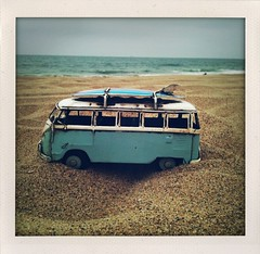 My dream in a photo.... (6ftmama) Tags: love beach cali amazing lol silliness vwbus iphone manhattenbeach apphappy