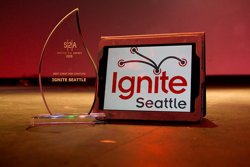 Seattle 2.0 Award for Ignite Seattle