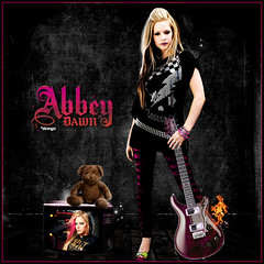 Avril Lavigne: Abbey Dawn (~Stranger) Tags: bear pink autumn summer love abbey fashion rock underground soldier fire dawn cool punk teddy alice think style stranger pop collection flame mode avril lavigne