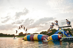 BLOB (David Parks - davidparksphotography.com) Tags: sunset sky sun david water set jump nikon texas stitch parks blob 28 nikkor sequence 2470mm d700