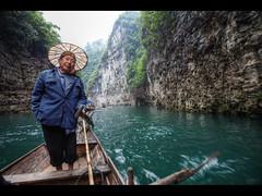 Row row row your boat (Kaj Bjurman) Tags: china eos boat row 5d yangtze hdr kaj markii cs4 photomatix bjurman
