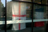 St.George flag 1 (house of bamboo) Tags: red england white english proud bar restaurant flying cross display flag pride national cheer worldcup van multicultural stgeorge hung redandwhite 2010 nationalistic chant comeonengland footballfifa