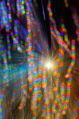 Bokehfied Fiboptic (- Hob -) Tags: blue red lightpainting abstract green raw bokeh optic fibre lightjunkies