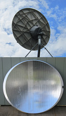 Satellite TV dish parabola