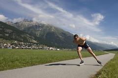 Trainingskamp St. Moritz 2008. Skeelertraining (Sven Kramer) Tags: sport schaatsen zwitserland skeeleren tvm trainingskamp sanktmoritz schaatsploeg sporter schaatser svenkramer 080809 sanktmortiz
