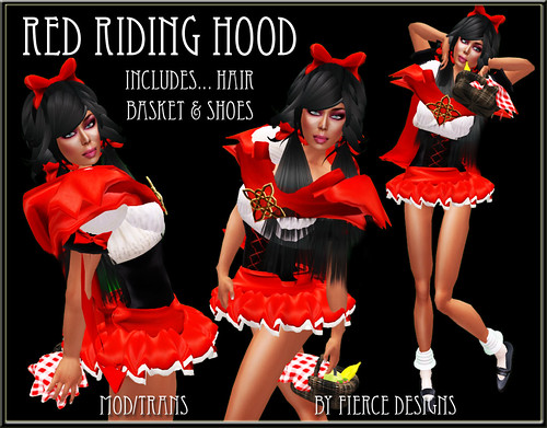 red riding hood (adult)