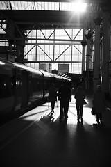 Going Home (bigsplash) Tags: london film mono fuji contax reala t2
