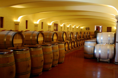 Bordeaux of the most popular wine routes
