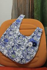 Bolsinhas de Mão (Fio da Ideia) Tags: bag pattern fuxico bags bolsa tutorial molde algodão tutorials comofazer bolsinhademão
