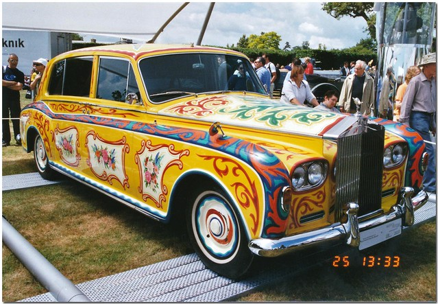 John Lennon Rolls Royce Phantom V Car. Goodwood Festival of Speed 2004.