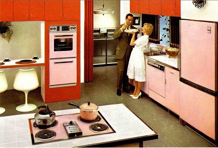 Hotpoint  All Pink Kitchen, 1961