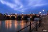 DSC_7996(2) (rufenglu) Tags: street photo photography night reflaction beautiful blue picture bridge nikon amazing river light landscape