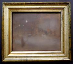 Eugéne Carriére : Place Clichy, la nuit, 1899-1900. (neppanen) Tags: sampen discounterintelligence paris pariisi ranska france museo museum musee art taide kuvataide painting maalaus maalaustaide muséed'orsay d'orsay orsay d´orsay eugene carriere eugenecarriere
