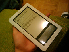 Barnes & Noble Nook e-reader is tiny!