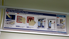 Emergency Instructions (Oran Viriyincy) Tags: train interior communication soundtransit linklightrail