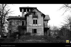 I'm Back To Silent Hill (Emitremmus) Tags: sky white house mountain snow black home wall clouds dark fear ghost bn silence villa horror asylum tranquillity spirtis