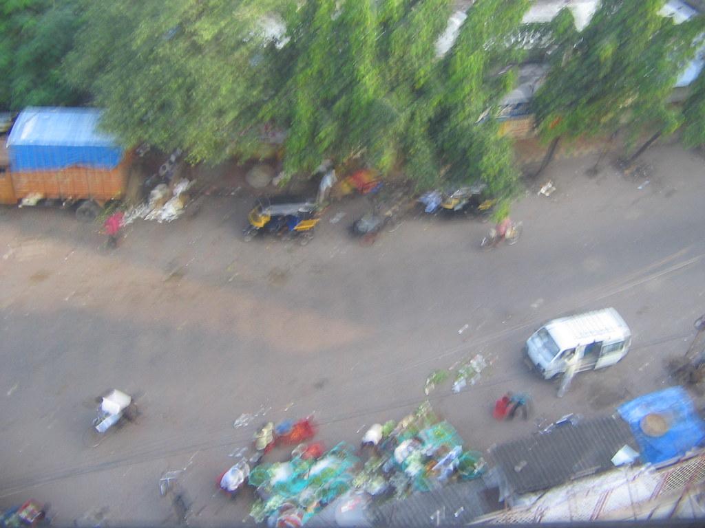 view from mumbai hotel room